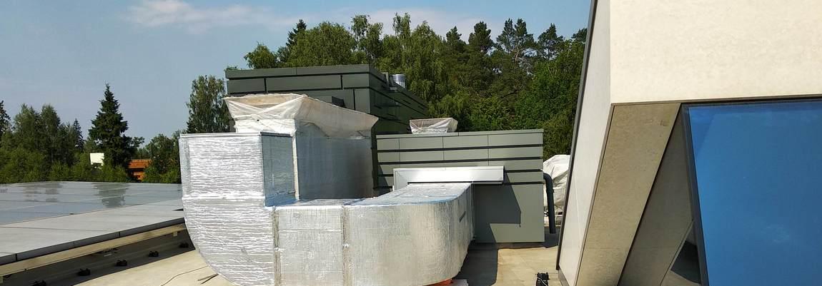 монтаж систем вентиляции и кондиционирования в Бутово, на юге Москвы и Московской области